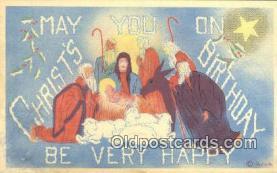 hol050259 - Christmas Postcard, Post Card Old Vintage Antique Carte, Postal Postal