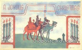 hol050262 - Christmas Postcard, Post Card Old Vintage Antique Carte, Postal Postal