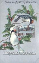 hol050265 - Christmas Postcard, Post Card Old Vintage Antique Carte, Postal Postal
