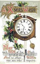 hol050269 - Christmas Postcard, Post Card Old Vintage Antique Carte, Postal Postal
