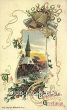 hol050274 - Christmas Postcard, Post Card Old Vintage Antique Carte, Postal Postal