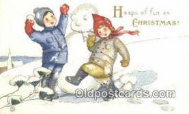 hol050277 - Christmas Postcard, Post Card Old Vintage Antique Carte, Postal Postal