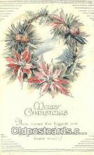 hol050281 - Christmas Postcard, Post Card Old Vintage Antique Carte, Postal Postal
