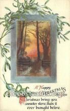 hol050283 - Christmas Postcard, Post Card Old Vintage Antique Carte, Postal Postal