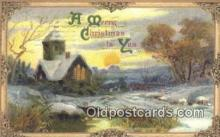hol050298 - Christmas Postcard, Post Card Old Vintage Antique Carte, Postal Postal