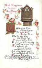 hol050315 - Christmas Postcard, Post Card Old Vintage Antique Carte, Postal Postal