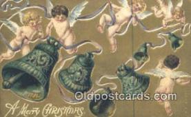 hol050332 - Christmas Postcard, Post Card Old Vintage Antique Carte, Postal Postal