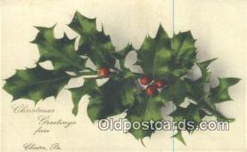hol050336 - Christmas Postcard, Post Card Old Vintage Antique Carte, Postal Postal