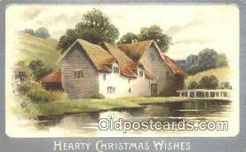 hol050339 - Christmas Postcard, Post Card Old Vintage Antique Carte, Postal Postal
