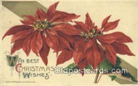 hol050348 - Christmas Postcard, Post Card Old Vintage Antique Carte, Postal Postal