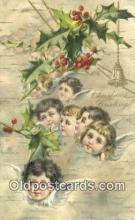 hol050373 - Christmas Postcard, Post Card Old Vintage Antique Carte, Postal Postal