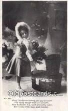 hol050413 - Christmas Postcard, Post Card Old Vintage Antique Carte, Postal Postal