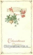 hol050415 - Christmas Postcard, Post Card Old Vintage Antique Carte, Postal Postal