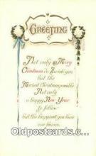 hol050416 - Christmas Postcard, Post Card Old Vintage Antique Carte, Postal Postal