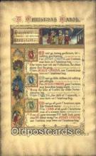 hol050420 - Christmas Postcard, Post Card Old Vintage Antique Carte, Postal Postal