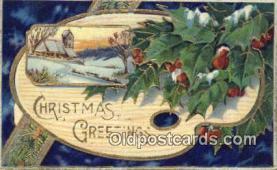 hol050430 - Christmas Postcard, Post Card Old Vintage Antique Carte, Postal Postal