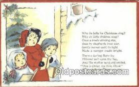 hol050431 - Christmas Postcard, Post Card Old Vintage Antique Carte, Postal Postal