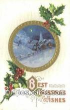 hol050437 - Christmas Postcard, Post Card Old Vintage Antique Carte, Postal Postal