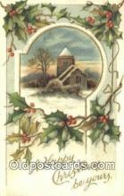 hol050438 - Christmas Postcard, Post Card Old Vintage Antique Carte, Postal Postal