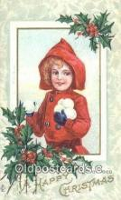 hol050445 - Christmas Postcard, Post Card Old Vintage Antique Carte, Postal Postal