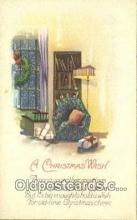 hol050459 - Christmas Postcard, Post Card Old Vintage Antique Carte, Postal Postal