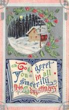 hol050775 - Christmas Holiday Postcard