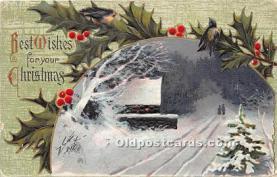 hol050822 - Christmas Holiday Postcard