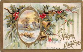 hol050823 - Christmas Holiday Postcard