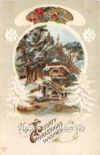hol050838 - Christmas Holiday Postcard