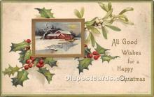 hol050889 - Christmas Holiday Postcard