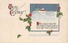 hol050891 - Christmas Holiday Postcard