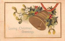 hol051045 - Christmas Postcard Old Vintage Antique Post Card