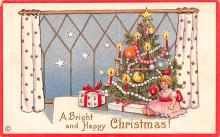 hol051127 - Christmas Postcard Old Vintage Antique Post Card