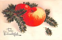 hol051273 - Christmas Postcard Old Vintage Antique Post Card