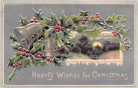 hol051307 - Christmas Postcard Old Vintage Antique Post Card