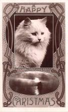hol051337 - Christmas Postcard Old Vintage Antique Post Card
