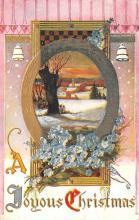 hol051349 - Christmas Postcard Old Vintage Antique Post Card