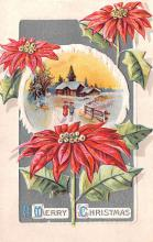 hol051377 - Christmas Postcard Old Vintage Antique Post Card
