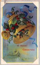 hol051383 - Christmas Postcard Old Vintage Antique Post Card