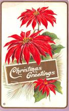 hol051439 - Christmas Postcard Old Vintage Antique Post Card