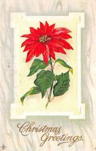 hol051451 - Christmas Postcard Old Vintage Antique Post Card