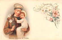 hol051533 - Christmas Postcard Old Vintage Antique Post Card