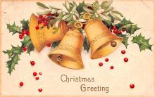hol051539 - Christmas Postcard Old Vintage Antique Post Card