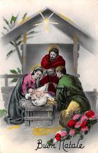 hol051551 - Christmas Postcard Old Vintage Antique Post Card