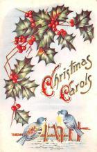 hol051609 - Christmas Postcard Old Vintage Antique Post Card