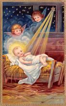 hol051613 - Christmas Postcard Old Vintage Antique Post Card