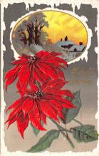 hol051615 - Christmas Postcard Old Vintage Antique Post Card