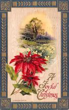 hol051617 - Christmas Postcard Old Vintage Antique Post Card