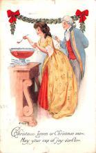 hol051623 - Christmas Postcard Old Vintage Antique Post Card