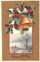 hol051633 - Christmas Postcard Old Vintage Antique Post Card